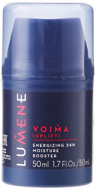 Увлажняющий крем для лица 24 часового действия - Lumene Voima Men Energizing 24h Moisture Booster