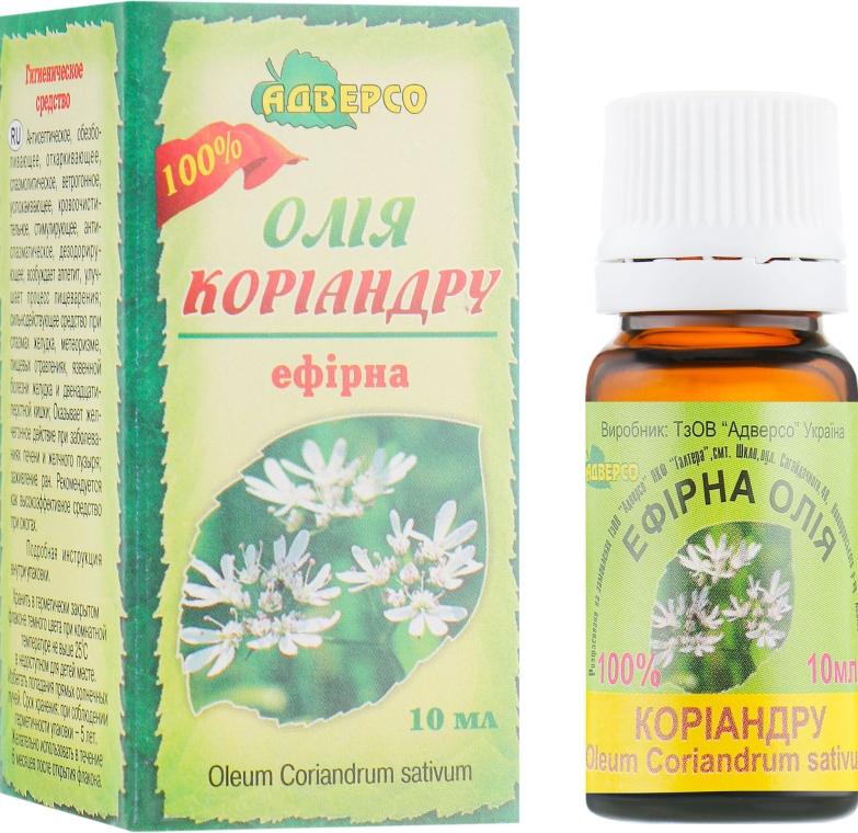 "Эфирное масло ""Кориандра"" - Адверсо"