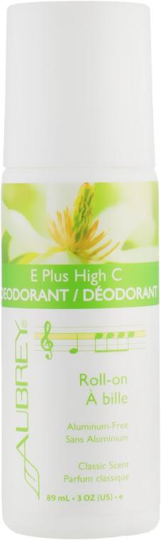 Дезодорант для тіла - Aubrey Organics Plus High Natural Roll-On Deodorant — фото N1