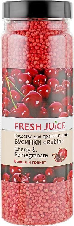 Бусинки для ванны - Fresh Juice Bath Bijou Rubin Cherry and Pomergranate
