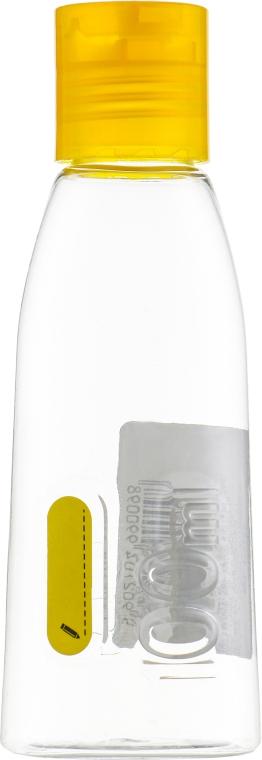Бутылочка дорожняя, с дозатором, желтая - Inter-Vion 499009