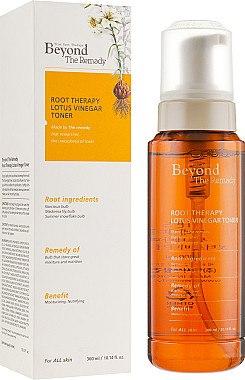 Тонер для лица - Beyond The Remedy Root Therapy Lotus Vinegar Toner