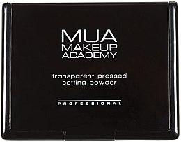 Духи, Парфюмерия, косметика Прозрачная пудра для лица - MUA Professional Transparent Pressed Setting Powder
