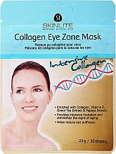 Духи, Парфюмерия, косметика Патчи под глаза омолаживающие - Skinlite Collagen Eye Zone Mask