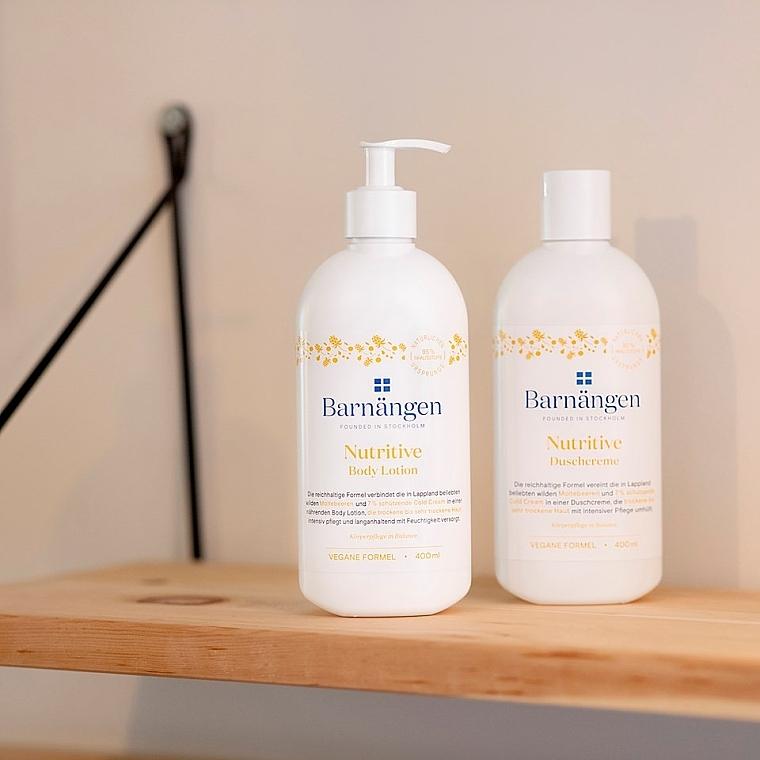 Крем-гель для душа с морошкой для сухой и очень сухой кожи - Barnangen Nordic Care Nutritive Shower Cream — фото N3
