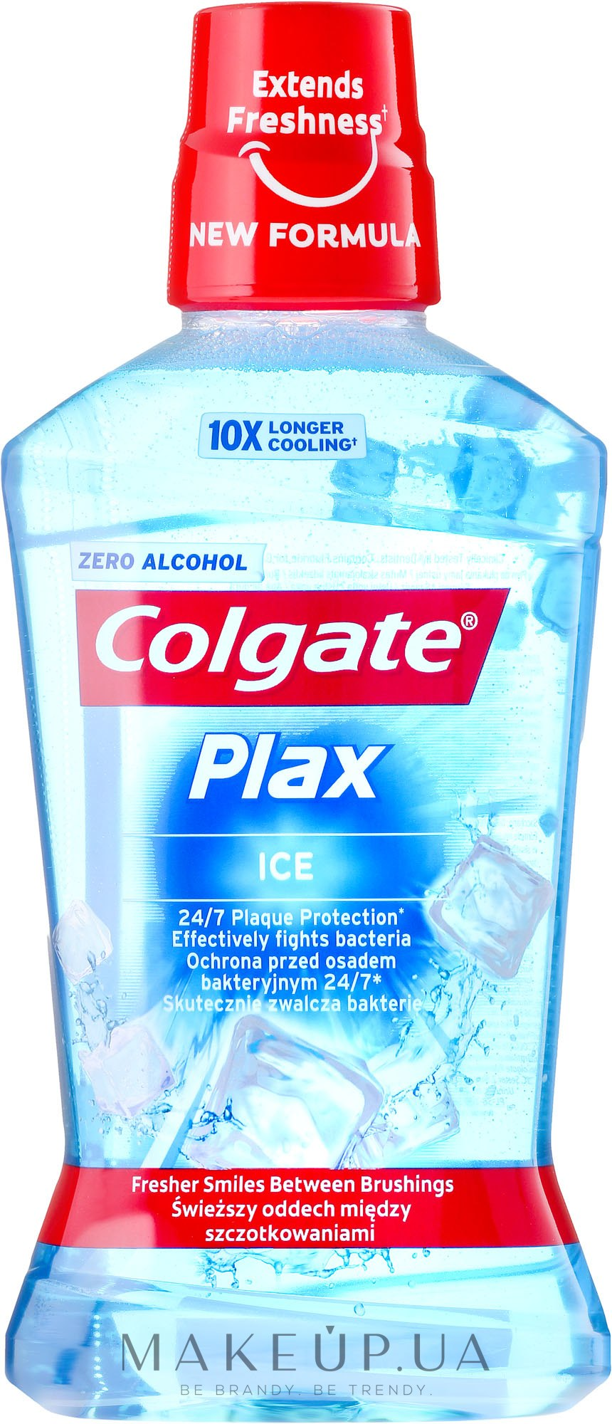Ополаскиватель для рта - Colgate Plax Ice — фото 500ml