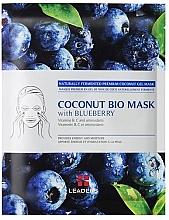 "Духи, Парфюмерия, косметика Укрепляющая маска ""Черника"" - Leader Coconut Bio Mask With Blueberry"