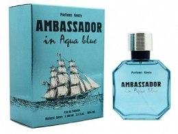 Духи, Парфюмерия, косметика Parfums Genty Ambassador in Aqua Blue - Туалетная вода