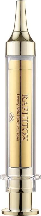 Микростимулирующий омолаживающий крем для лица - Idenel Raphitox