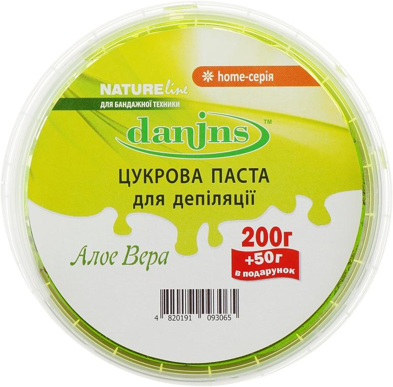 """Сахарная паста для депиляции в домашних условиях """"Алоэ Вера"""" - Danins Home Sugar Paste Aloe Vera"""