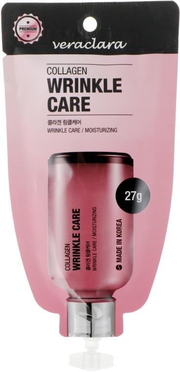 Крем омолаживающий против морщин для лица с коллагеном - Veraclara Collagen Wrinkle Care