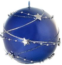 Духи, Парфюмерия, косметика Декоративная свеча, шар, синий, 10 см - Artman Christmas Garland