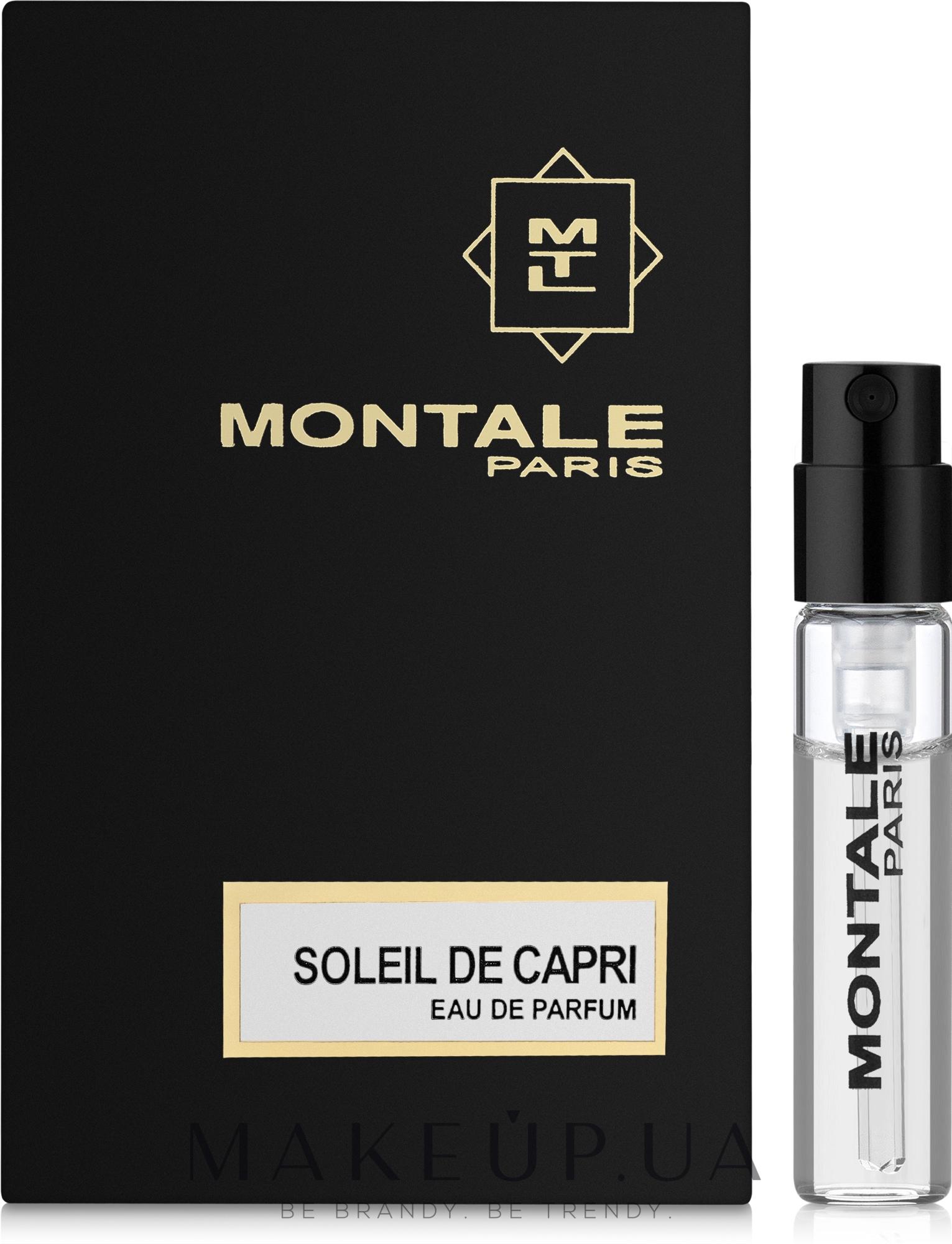 Montale Soleil de Capri - Парфюмированная вода (пробник) — фото 2ml