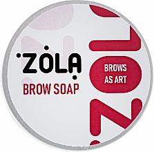 Духи, Парфюмерия, косметика Мыло для бровей для фиксации волосков - Zola (мини-версия)