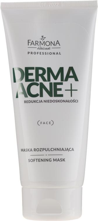 Маска для лица разрыхляющая - Farmona Professional Derma Acne+ Softening Mask