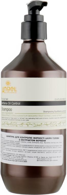 Шампунь для контроля жирности кожи головы с экстрактом вербены - Angel Professional Paris Provence For Oilly Hair Verbena Oil Control Shampoo