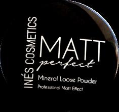Духи, Парфюмерия, косметика Пудра рассыпчатая - Ines Cosmetics Matt Perfect Mineral Loose Powder