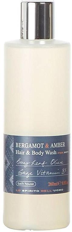 Bath House Bergamot & Amber - Гель для душа