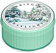Духи, Парфюмерия, косметика Чайная свеча - Kringle Candle Snow Capped Fraser Daylight