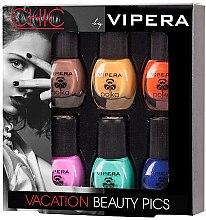 Духи, Парфюмерия, косметика Набор лаков - Vipera Chic Vacation Beauty Pics (n/polish/5.5ml x 6)