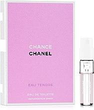 Духи, Парфюмерия, косметика Chanel Chance Eau Tendre - Туалетная вода (пробник)