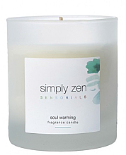 Духи, Парфюмерия, косметика Ароматическая свеча - Z. One Concept Simply Zen Soul Warming Fragrance Candle