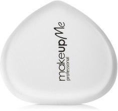 Духи, Парфюмерия, косметика Силиконовый спонж для макияжа сердцеобразной формы, белый - Make Up Me Siliconepro