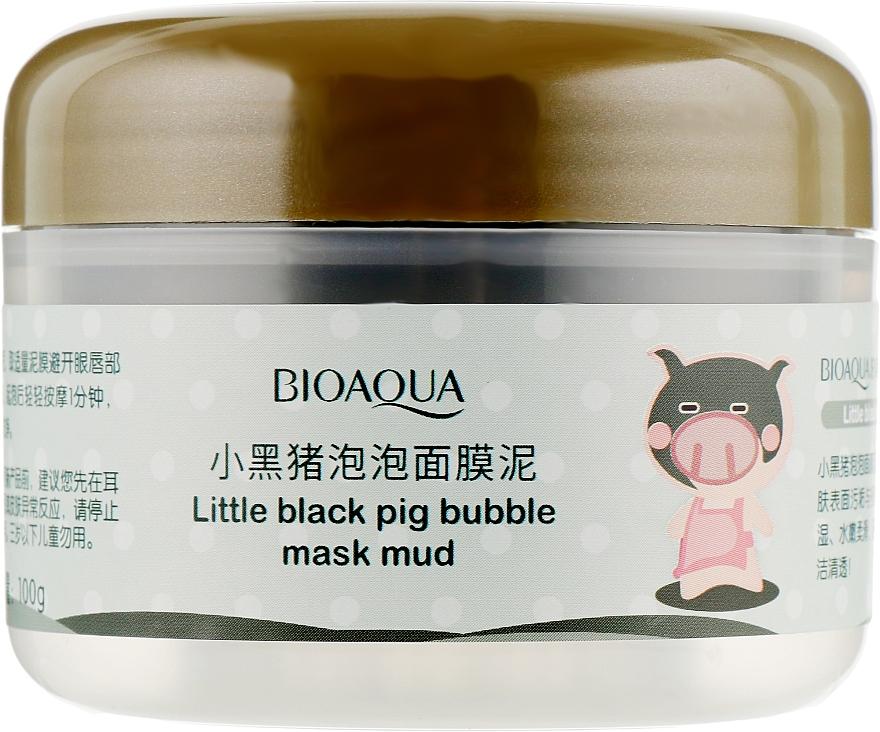 Кислородная пузырьковая маска для лица - Bioaqua Carbonated Bubble Clay Mask