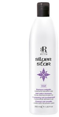 Шампунь, нейтрализующий желтизну - RR LINE Silver Star Shampoo
