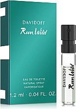 Духи, Парфюмерия, косметика Davidoff Run Wild Men - Туалетная вода (пробник)