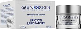Висококонцентрований нічний крем Матрицелл - Ericson Laboratoire Genxskin Matrixcell Cream High Density Night Cream — фото N2