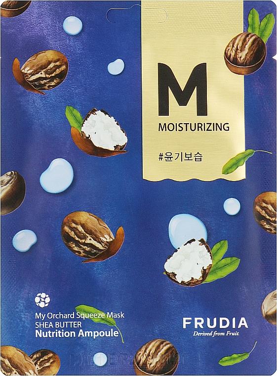 Тканевая маска восстанавливающая с маслом ши - Fruida My Orchard Squeeze Mask Shea Butter