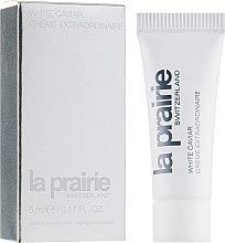 Духи, Парфюмерия, косметика Крем для лица увлажняющий - La Praire White Caviar Extraordinaire (пробник)