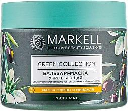 Духи, Парфюмерия, косметика Бальзам-маска для волос укрепляющий - Markell Cosmetics Green Collection Mask