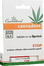 Духи, Парфюмерия, косметика Бальзам для губ - Cannaderm Cannadent Lipstick Balm