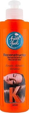 Реконструктор для волос - Fresh Feel Reconstructor Keratin