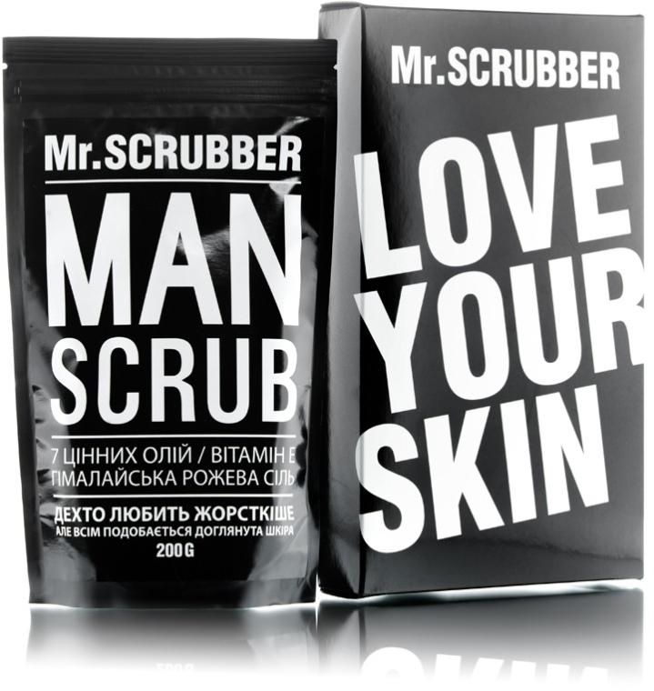 """Мужской кофейный скраб для тела """"Кофейное зерно"""" - Mr.Scrubber Man Coffee Bean Scrub"""