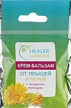 Парфумерія, косметика Крем-бальзам від прищів і вугрів з екстрактом календули - Healer Cosmetics