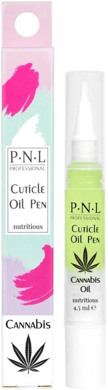Масло Каннабис для кутикулы в карандаше - PNL Treatment Cuticle Cannabis Oil Pencil