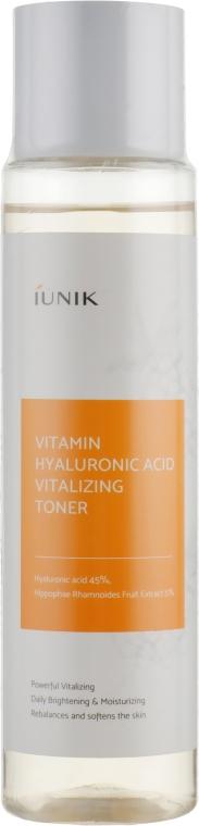 Увлажняющий тонер - iUNIK Vitamin Hyaluronic Acid Vitalizing Toner