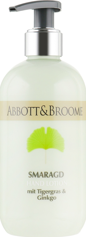 Лосьон для рук - Abbott&Broome Hand Lotion Smaragd