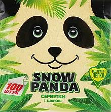 Духи, Парфюмерия, косметика Салфетки бумажные, желтые, 100 шт - Снежная Панда