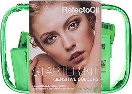 Духи, Парфюмерия, косметика Стартовый набор для окрашивания для чувствительной кожи - RefectoCil Sensitive Colours (dye/3x15ml + developer/gel/60ml + tint/remover/150ml + artist/palette + pads + folder)
