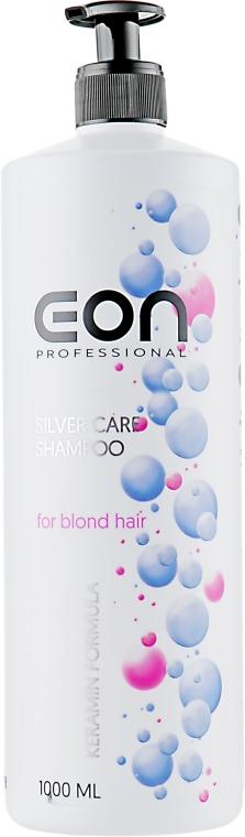 Шампунь для светлых волос - EON Professional Silver Care Shampoo — фото N3