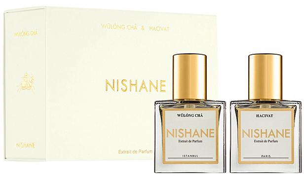 Nishane Hacivat & Wulong Cha - Набор (parfum/2*15ml)