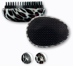 Духи, Парфюмерия, косметика Щетка для волос, 63886 , принт леопард - Top Choice