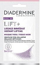 Духи, Парфюмерия, косметика Тканевая маска для лица - Diadermine Lift+ Instant Lifting Tissue Mask