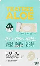 Духи, Парфюмерия, косметика Успокаивающая маска с алоэ и чайным деревом - Kim Jeong Moon Cure Tea Tree Calming Aloe Mask