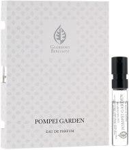 Духи, Парфюмерия, косметика Giardino Benessere Pompei Garden - Парфюмированная вода (пробник)