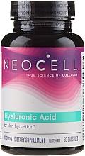 """Духи, Парфюмерия, косметика Гиалуроновая кислота """"Природный увлажнитель"""", 100 mg, 60 капсул - NeoCell Hyaluronic Acid"""